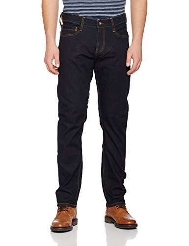 Mustang Herren Fit Jeans Oregon Tapered Blau (Rinse 088)