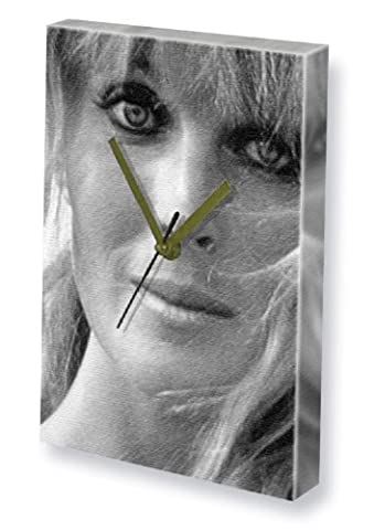 BO DEREK - Canvas Clock (A4 - Signed by the Artist) #js001