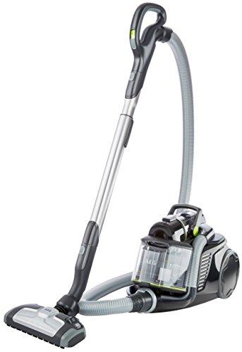 AEG-UltraFlex-LX8-1-KO-Staubsauger-ohne-Beutel-EEK-A-800-Watt-inkl-Hartbodendse-12-m-Aktionsradius-Softrder-16-Liter-Staubbehlter-waschbarer-Hygiene-Filter-E12-SchwarzGrn