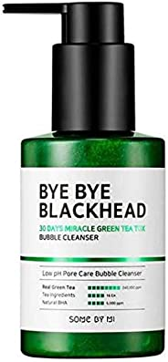 SOME BY MI BYE BYE BLACKHEAD 30 Days Miracle Green Tea Tox Bubble Cleanser, 120 gm