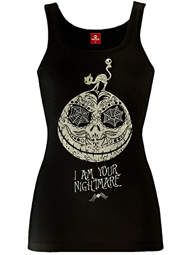 The Nightmare Before Christmas NBCH I'm Your Nightmare Lady Top black Schwarz