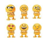 Kopfschüttelnd Spielzeug Auto OrnamenteNiedlichen Cartoon Lustige Emoji Wackelkopf Roboter Schöne...