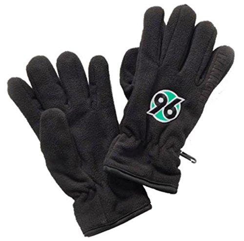 o Schwarz Gr. S/M Hannover 96, H96, Gloves, guantes, gants ()