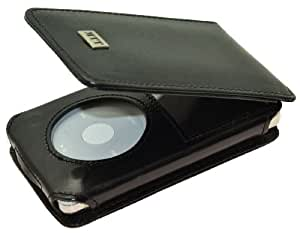 MTT Flip-Tasche für Apple iPod Classic Modelle - 30GB / 60GB / 80GB / 120GB / 160GB Video / in schwarz