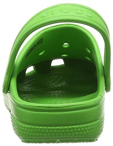 Crocs Ralen Clog K, Sabots Mixte Enfant, Bleu Vert (Lime)