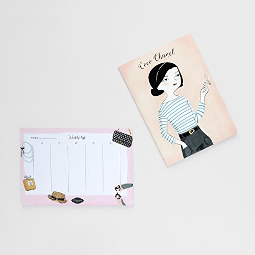 coco-chanel-notebook-and-weekly-calendar