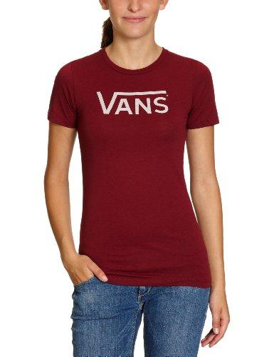 Vans - Allegiance Tee - T-Shirt - Femme bordeaux