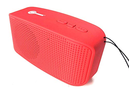 AUDIO SALE/SPEAKER! GO Portable Wireless Bluetooth Speaker Super Stylish with mic, Crip effect with Inbulit FM radio Plug & Play USB Port Memory card slot Aux In with rechargeable battery with charging cable compatible for OnePlus Lenovo Samsung Apple Iphone Xiaomi Redmi Mi Motorola Asus Honor Intex Oppo Cool pad Gionee HTC Vivo Micromax data wind LeEco Lava LYF Spice Blackberry Infocus Android Mobiles/ Tablets, Laptops & Gaming Consoles EZ178-RED