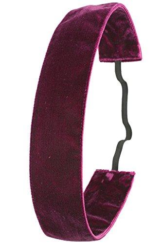 Ivybands | Das Anti-Rutsch Haarband | Wein Rot Extra Breit | One Size IVY740