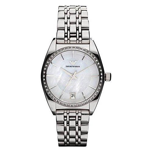 Emporio Armani Women's Quartz Watch AR0379 AR0379 with Metal Strap