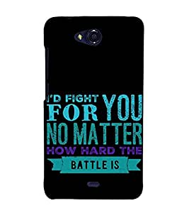 ifasho Designer Back Case Cover for Micromax Bolt Q335 (Past Heredity)