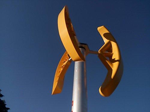 Mini vertikal windkraftanlagen SMART WIND 500W Windgenerator windrad für garten Darrieus Savonius