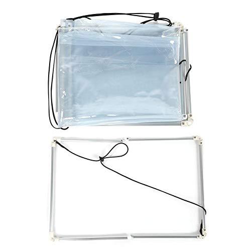 Acogedor Klimaanlage Staub waschen Abdeckung, 1 Stücke PVC Kunststoff Klimaanlage Reinigung Waschen Abdeckung, Haushalt sauber Schutz Werkzeuge(A)