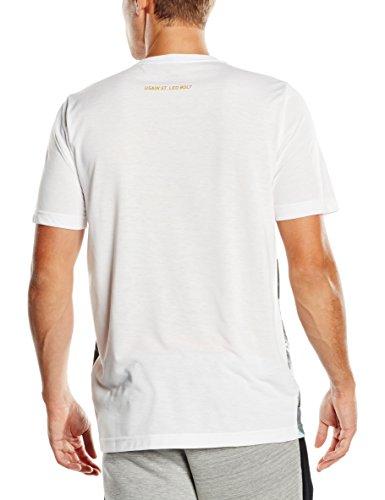 PUMA Herren T-Shirt UB Graphic Tee White