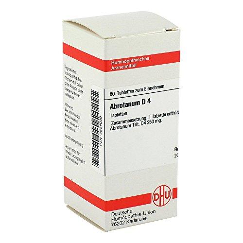 ABROTANUM D 4 Tabletten 80 St Tabletten