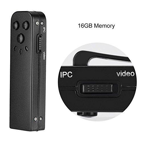 Zerone Überwachungskamera Diktiergeräte Stift, 16 GB, 720 P, Versteckte Spionagekamera, Video- und Audiorecorder mit Bewegungserkennung, 20 Stunden Akku