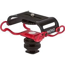 """Movo SMM5 Soporte Amortiguador Universal Cámara con Rosca de Montaje 1/4"""" - Se adapta a la Zoom H4n, H5, H6, Tascam DR-40, DR-05, DR-07 & Grabadores Similares"""