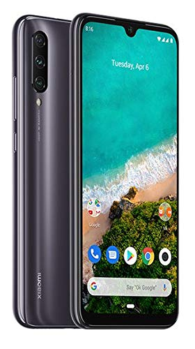Xiaomi Mi A3 4GB 64GB Qualcomm Snapdragon 665 Fotocamera principale da 48 MP 4,030 mAh (tipica) Versione globale mondiale dell'UE