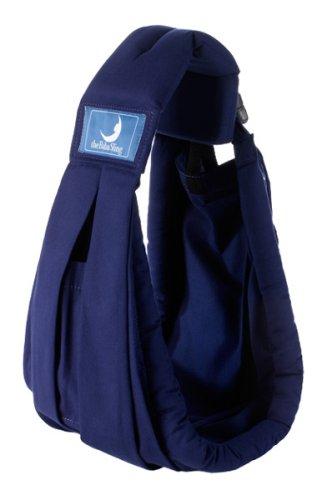 Babasling DB 002 - Pañuelo porta bebés (0 - 24 meses), color azul