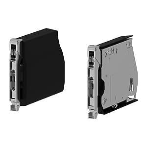 Ikea utrusta grand charni re pour porte horizontale noir 2 pack pack 2 - Charniere porte cuisine ikea ...