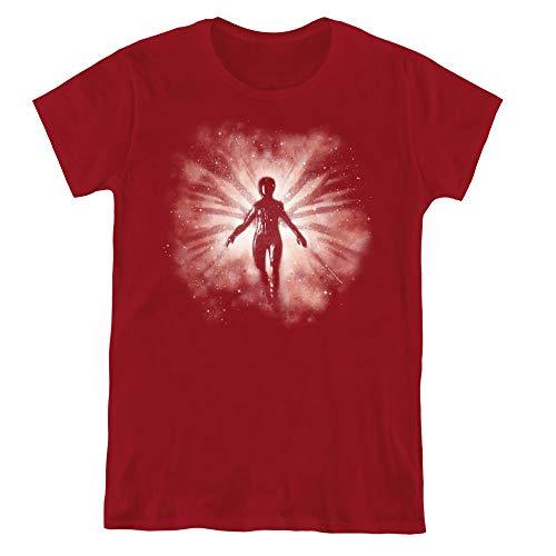 Star Trek Womens T-Shirt Red Angel Cardinal Tee, XL - Star Trek Red Shirt