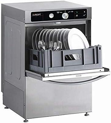 Lavavasos lavavajillas de barra bar cesta de 35 cm, especial hosteleria