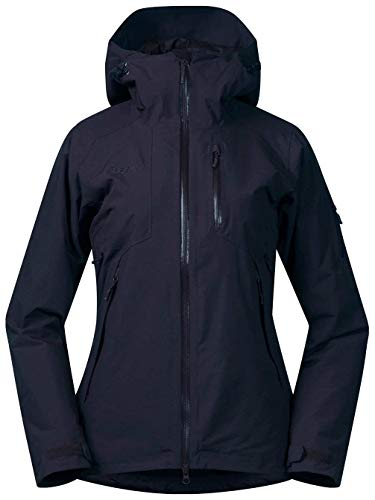 Bergans Haglebu Insulated Lady Jacket - Warme Skijacke mit Schneefang