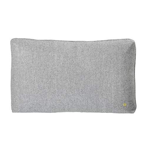 Wool Cushion – Light Grey