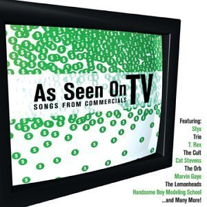 As Seen on TV: Songs from Commercials by Various Artists Rv Tv