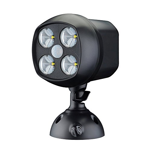 LED Luz de Múltiples Funciones con Sensor Movimiento de VicTsing Cada Brillo del LED Se Mantiene a 15000MCD, Luz de Cabeza Puede Girar 360º Para Jardín, Patio,Borde del camino,Campo de fútbol