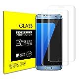 Samsung Galaxy S7 Edge Panzerglas Schutzfolie, [2 Stück] 9H Härte, Gute Qualität, Anti Kratzer, Einfaches Anbringen, Displayschutz Gehärtetem Glas Displayschutzfolie Folie Film (Galaxy S7 Edge)