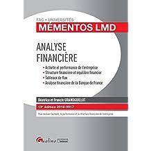 Mémentos LMD - Analyse financière 2016-2017