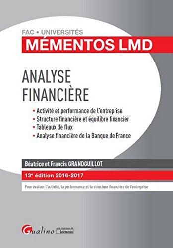 Mmentos LMD - Analyse financire 2016-2017