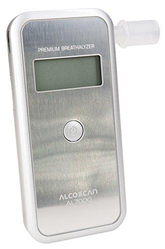 Foto de Comprobador de alcohol digital AL-7000 (plata)/Rango de medición: 0th 00-4, 00 ‰ /precisión de medición: 0, 01‰
