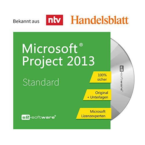 Microsoft® Project 2013 Standard DVD mit original Lizenz. Papiere & Lizenzunterlagen von S2-Software GmbH & Co. KG