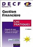 Gestion financière, DECF numéro 4 - Cas pratiques