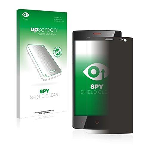 upscreen Spy Shield Clear Blickschutzfolie / Privacy für Ulefone Be X (Sichtschutz ab 30°, Kratzschutz, selbstklebend)