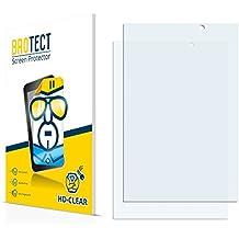 2x BROTECT HD-Clear Protector Pantalla HP Slate 7 VoiceTab Película Protectora – Transparente, Anti-Huellas