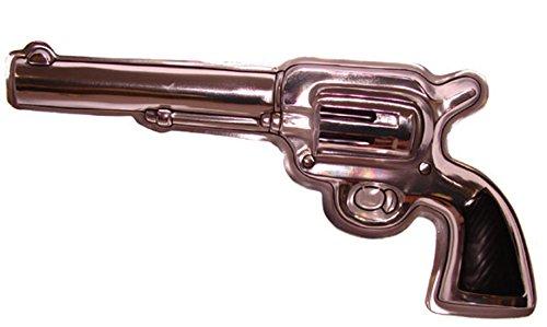 ver Party Deko Wanddekoration Pistole Wilder Westen Mottoparty, 50cm, Bronze ()