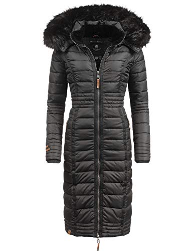 Navahoo Damen Steppmantel Wintermantel Umay 5 Farben S-XXL