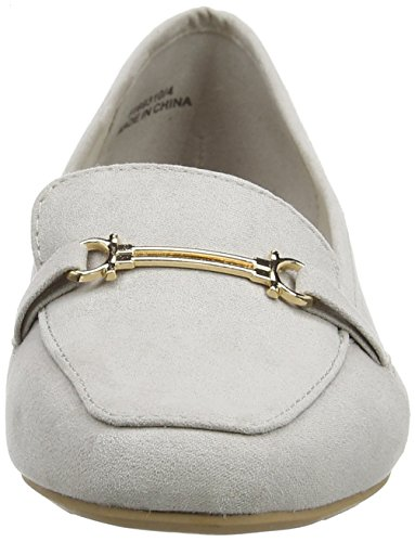 New Look Kanger, Mocassins fille Grey (Mid Grey)