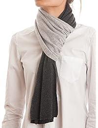 Dalle Piane Cashmere - Sciarpa bicolore 100% cashmere - Uomo/Donna