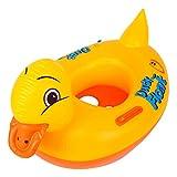 Lukis Baby Kleinkind Schwimmtrainer Aufblasbarer Schwimmring Gelbe Ente Babypool Sitzring
