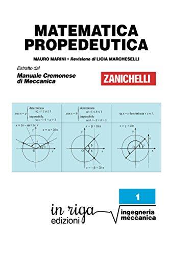 integrali matematica  eBook Matematica propedeutica: Coedizione Zanichelli - in riga ...