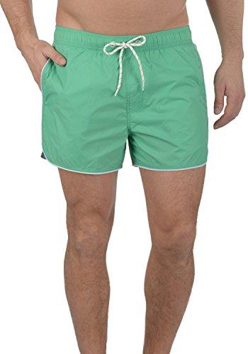 Blend Zion Herren Swim-Shorts Kurze Hose Badehose, Größe:L, Farbe:Holiday Green (77198)