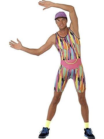 Sport Thèmes Costume Idées - Déguisement Année 90 Prof de Sport Taille
