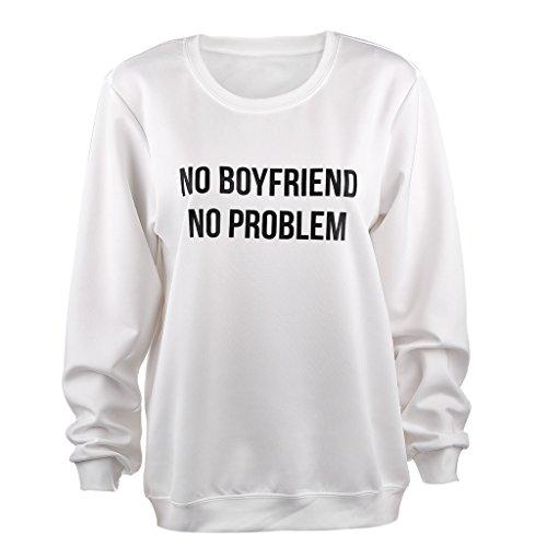 Frauen Halten Passen Schlank Ployster Sweatshirt Verbreitet Pullover XL