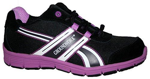 Groundwork Gr95, Scarpe da Tennis Unisex – Adulto Lilac/Black