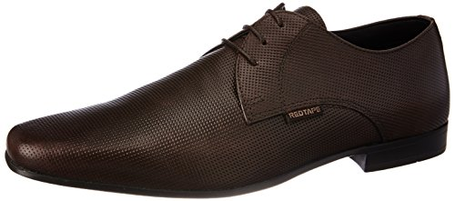 Red Tape Men's Derbys Brown Leather Formal Shoes - 8 UK/India (42 EU)