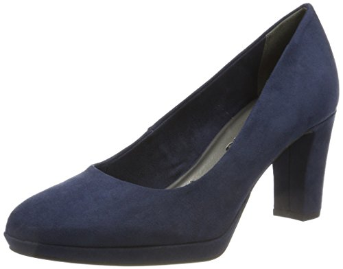 Tamaris Damen 22420 Pumps, blau, 38 EU